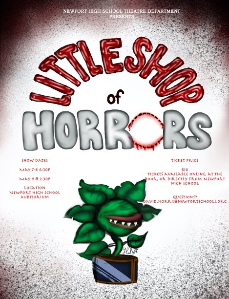 NHS Theatre Department presents Little Shop of Horrors