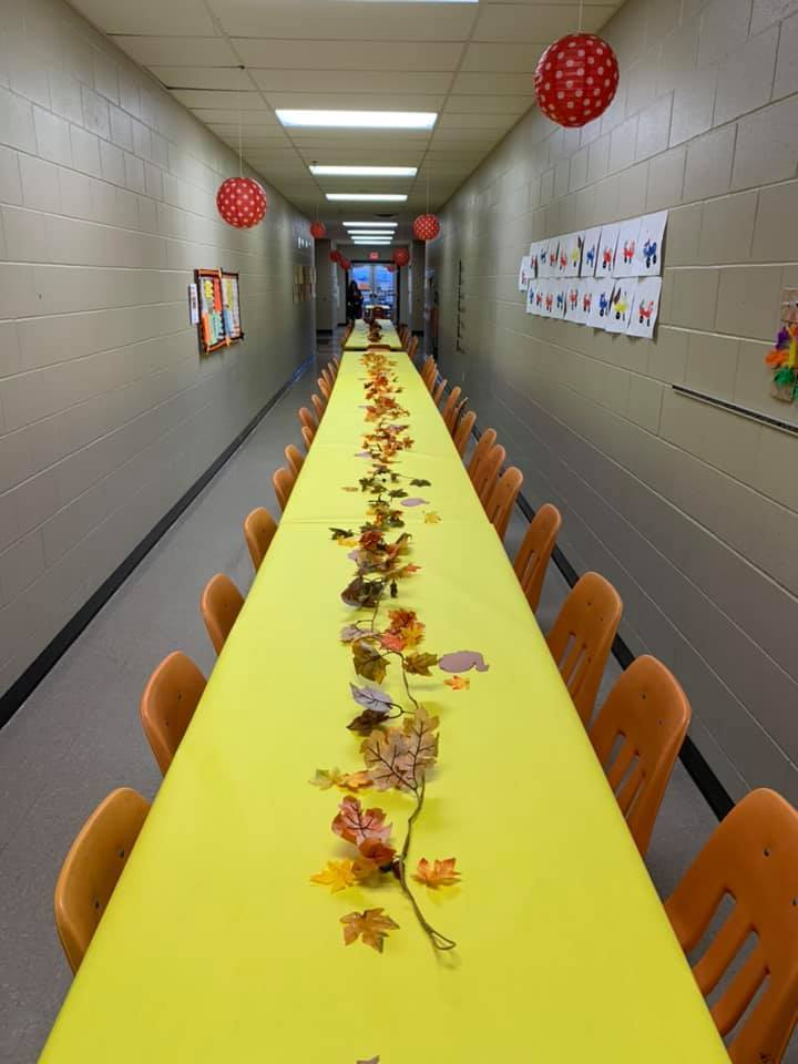 NES Pre-K Thanksgiving Lunch