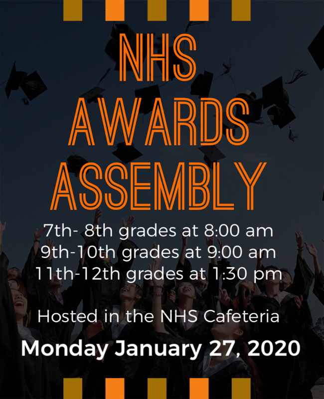 NHS Awards Assembly