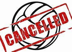 Greyhound Volleyball Games Cancelled