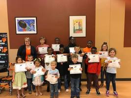Elementary September Students of the Month!