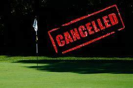 No Greyhound Golf Today